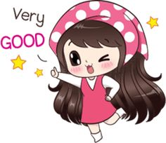 I like power magic love. Let enjoy with my lovely stickers. Cute Chibi Couple, Love Cartoon Couple, Cute Cartoon Girl, Cute Love Cartoons, Stickers Emojis, Love Stickers, Cute Love Pictures, Cute Cartoon Pictures, Sick Emoji
