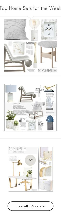 """Top Home Sets for the Week"" by polyvore ❤ liked on Polyvore featuring interior, interiors, interior design, home, home decor, interior decorating, Atipico, DENY Designs, Chaney and Tom Dixon"