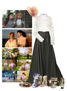 """""""Classics;Anne of Green Gables - Diana Barry,Challenge 3"""" by fashionqueen76 ❤ liked on Polyvore featuring Gareth Pugh, Temperley London and Poetic Licence"""