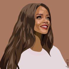 Small Canvas Art, Mini Canvas Art, Face Illustration, Portrait Illustration, Pop Art Portraits, Portrait Art, Rihanna Drawing, Disney Pop Art, Gate Images