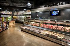 Brothers marketplace by bhdp architecture, medfield – massachusetts Butcher Store, Visual Merchandising, Massachusetts, Food Retail, Retail Concepts, Catering, Retail Store Design, Design Furniture, Shop Interior Design
