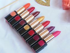 L'Oreal Paris BoldInGold Collection Lipsticks I have shared the first look on the new L'Oreal Paris BoldInGold Makeup Collection in my previous post and lo
