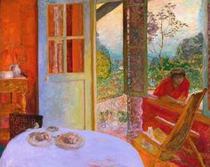 Dining Room in the Country by Pierre Bonnard, 1913