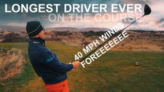 LONGEST GOLF DRIVER EVER ON THE COURSE Longest golf driver ever on the course. Mark Crossfield and Coach Lockey are at Saunton Golf Club, a links golf course, playing Saunton East Course with Rory from YourGolfTravel. The guys are playing with the longest golf driver ever on the golf course. Do you think you could control your ball, whilst trying to hit […] Tee One Up Golf Golf Drivers, Play Golf, Golf Ball, Golf Clubs, Thinking Of You, Golf Courses, Guys, Thinking About You, Sons