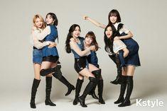 in KStyle Interview 190315 Gfriend And Bts, Gfriend Yuju, Kpop Girl Groups, Korean Girl Groups, Kpop Girls, Extended Play, K Pop, Hi School Love On, Haikyuu