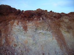 Perfil de suelo en Montemayor
