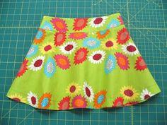 """The OTTOBRE design® Blog: Ottilia Sews! """"Garden Flower"""" Skirt"""