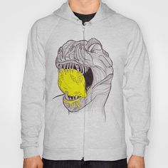 Zest for Life T-rex dino hoodie available at http://society6.com/katewebber