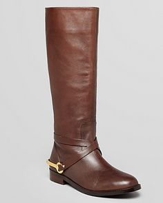 Lauren Ralph Lauren Riding Boots - Jenny Flat | Bloomingdale's    Design Darling