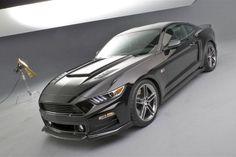 2015 Roush Mustang Looks So Much More Aggressive Studio Shot