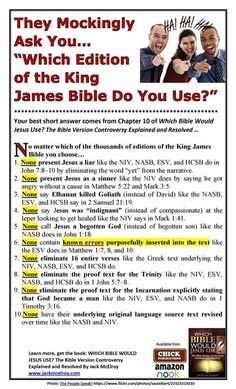 There is only one inspired version of scripture Niv Bible, Bible Truth, Scripture Study, Bible Scriptures, Beautiful Words In English, Bible Translations, Bible Knowledge, King James Bible, Favorite Bible Verses