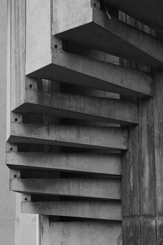 concrete stairs. steps. interior. design