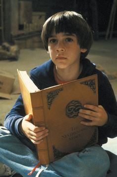 """Child actor, Barret Oliver (Bastian in """"The NeverEnding Story"""") reads."""