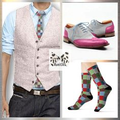 💯Get out of the crowd, adopt the Pink Chic Style  ✅ Pink wool waistcoat - $79.99  ✅ Awesome suede/leather pink wingtips - $279.99  ✅ Matching colored tie and socks for to finish the look    Order here 🎯    #pinkwaistcoat #menstyle #menfashion #menapparel #menaccessories #menattire #oxfordshoes #pinkwingtips #wingtipshoes #runyourstyle #runit365