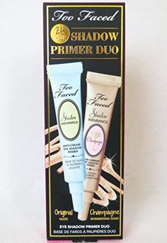 Too Faced 24 hour Shadow insurance Primer Duo Nude  Champagne *** This is an Amazon Affiliate link. More info could be found at the image url.