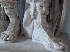 The War Boots of Mars Detail of the Pyrrhus Colossal Statue of Mars found in the Forum of Nerva Roman 1st century CE