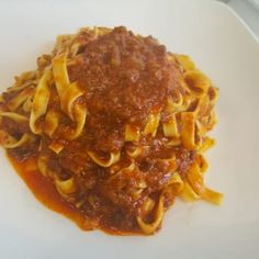 Photo of Pasta Sisters - Los Angeles, CA, United States. Bolognese tagliatelle...under $10!