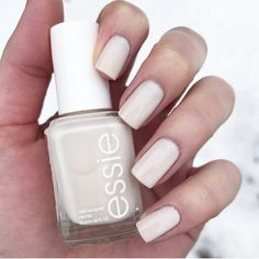 Tailored to perfection this silken ivory crème is devastatingly elegant and in total control. essie 'tuck it in my tux' is the perfect sheer nail polish for a perfectly polished manicure. Shop it here: http://www.essie.com/Colors/sheers/tuck-it-in-my-tux.aspx