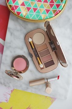 """It's almost Fall, which is absolute favorite season for new makeup launches. One of my very favorite """"skincare makeup"""" lines is Jane Iredale and the fall launches are very pretty so I wanted to share the eyeshadow palette, blush, and lipstick..."""