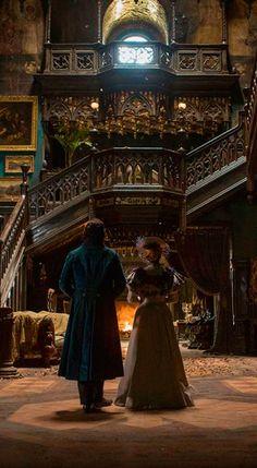 Digital Trends: Inside the living, breathing, bleeding house of Guillermo del Toro's Crimson Peak. Link: http://www.digitaltrends.com/movies/crimson-peak-set-visit-guillermo-del-toro-interview/