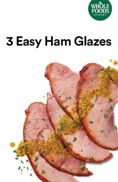 Take your precooked spiral-sliced ham up a notch with a homemade ham glaze — it's easy!