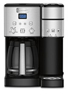 Make the perfect cup of Joe with the Cuisinart Coffee Center Coffee Maker and Single Serve Brewer. The Coffee Center is your one-stop-shop in the morning for preparing your favorite beverages and is K-Cup compatible for convenience. Dual Coffee Maker, Coffee Maker With Grinder, Single Cup Coffee Maker, Coffee Maker Reviews, Best Coffee Maker, Single Serve Coffee, Bluetooth, Coffee Center, Usb