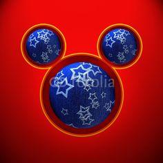 Natale topolino con palle blu #microstock #marketing #webdesign #design #WebContent #SEO #csstemplates #css #HTML5 #Websites #web20k #web2014 #web