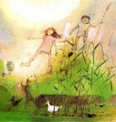 CHILDREN'S ILLUSTRATION: John Burningham