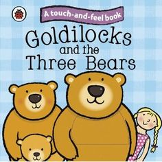 These books are a great introduction for toddlers to some well-known fairytales.