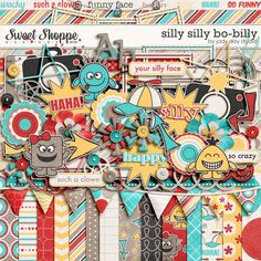 Silly silly Bo billy at sweet shoppe designs. This would be fun!