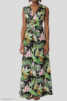 Amazon Tropical Print Maxi Dress Tiki Party, Luau Party, Beach Party, Hawaiian Theme, Tropical Party, Surf, Online Shopping, Party Ideas, Amazon