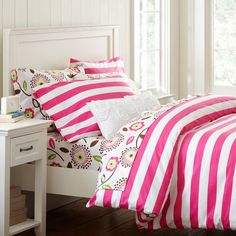 Striped Duvet Cover Twin