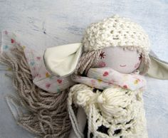 Little Lamb / Sweet Doll / Lamb Hat / Handmade by thedollsunique