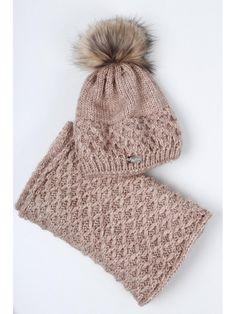 Hnedý dámsky set čiapka + šál Winter Hats, Fashion, Moda, La Mode, Fasion, Fashion Models, Trendy Fashion