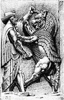 O mito mais importante da religião persa é o da disputa entre Ahura Mazda e Ahrimã que consiste na luta de dois tipos de seres divinos.Esta luta nos aparece sob uma dupla forma:a material e a espiritual.No caso da luta material,Ahrimã quer invadir o céu,mas é repelido para o inferno;na luta espiritual ou mística,Ahrimã,princípio da obscuridade,da desordem, do mal,é repelido por Ormuzd,deus da luz,da ordem e do bem.