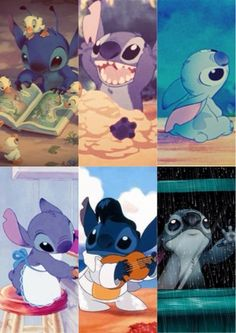 OMG I love him and he is so cute I think the movie is 1 of the most realistic Disney movies except for the whole alien thing. Disney Pixar, Disney Animation, Disney And Dreamworks, Disney Art, Walt Disney, Lilo And Stitch 3, Cute Stitch, Disney Stitch, Cute Disney