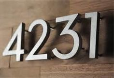 How To Make Your Own Neutra Style House Numbers
