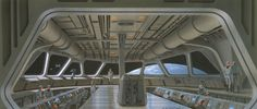 #McQuarrieMonday - Join the Empire! See the galaxy*!      *From inside a Star Destroyer, as you oppress local populations.