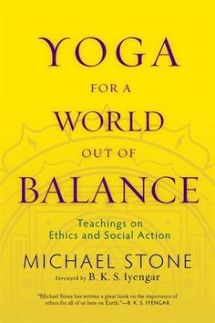 Every aspect of our life has a part to play in the greater ecological system, Michael Stone explains in this book. How do we bring this large view to our yoga practice? According to Stone, our responsibility as human beings is to live in a sustainable and respectful way. He says two things need to change. First, we need to understand the relationship between our actions and the effects of our actions. Second, once we see the effect of our actions in the human and non-human world, we need…