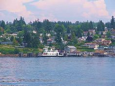 Steilacoom, WA, one of the prettiest places I've ever seen and where my daughter started high school.