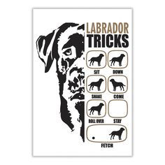 Labrador Tricks Posters For Passionate Dog Lovers, Order HERE ==> https://www.sunfrog.com/Pets/115741188-474682199.html?47759, Please tag & share with your friends who would love it , #jeepsafari #superbowl #birthdaygifts