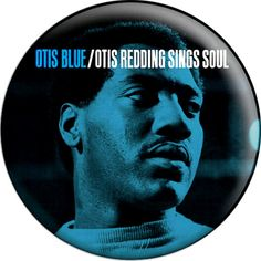 Otis Blue OTIS REDDING Button Badge Pinback Pin by BeatGorilla