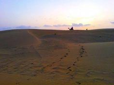 Mr Prabhjot Enjoying Camel ride ;)