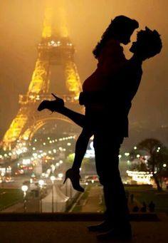 Alyssa and Wesley on their honeymoon in Paris! Congratulations!