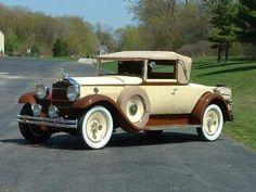 1930 Packard 733 Standard Eight Convertible Coupe