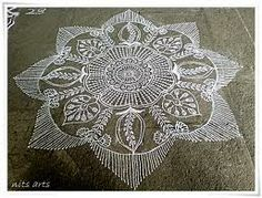Share this on WhatsAppAre you looking for Rangoli designs with dots that are easy and simple to do? Diya Designs, Rangoli Designs With Dots, Rangoli With Dots, Simple Rangoli, Kolam Designs, Mehndi Designs, Beautiful Mehndi Design, Beautiful Rangoli Designs, Alpona Design