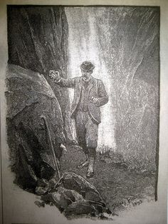 Sherlock Holmes After Fighting Moriarty Sidney Paget Book Illustration 6124 by Brechtbug, via Flickr
