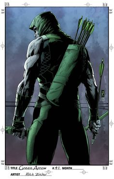 Green Arrow (2011) Issue #41