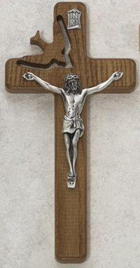 """Holy Spirit Wall Crucifix size: 8"""""""
