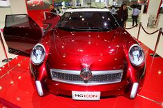 MG ICON Concept at the 30th Thailand International Motor Expo 2013
